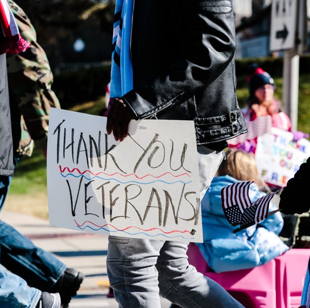 Where to find free Veterans Day meals, deals on the Nov. 12 holiday