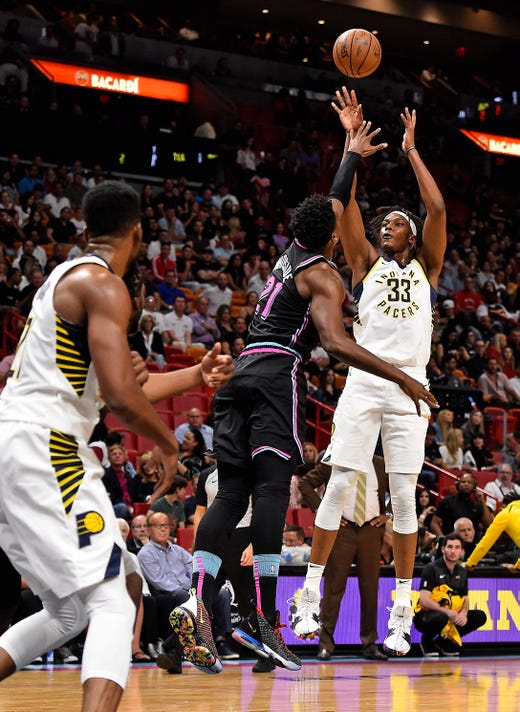 Nba Indiana Pacers At Miami Heat