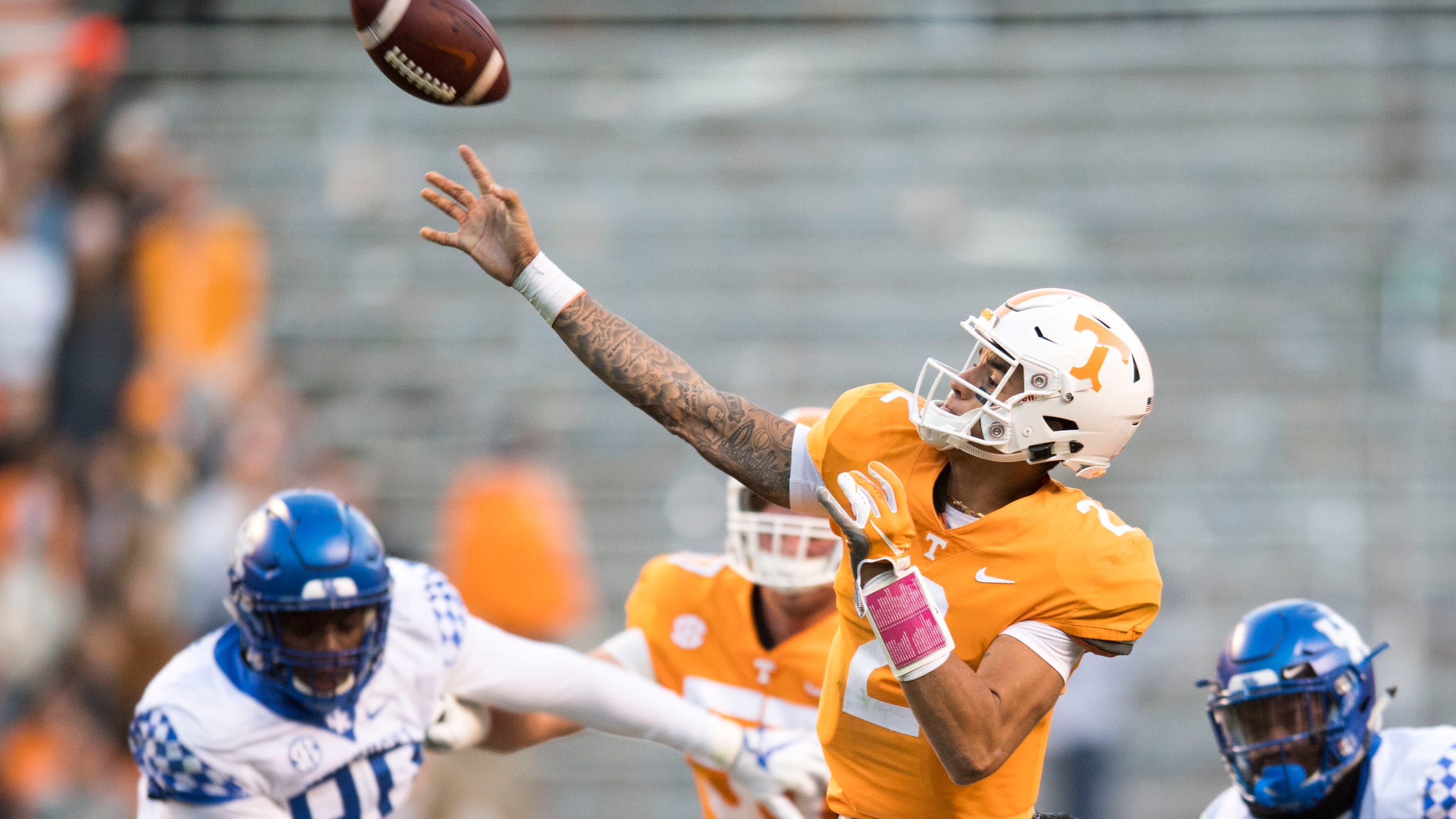 UT Vols: Grades for Tennessee, Memphis, Vandy, MTSU football