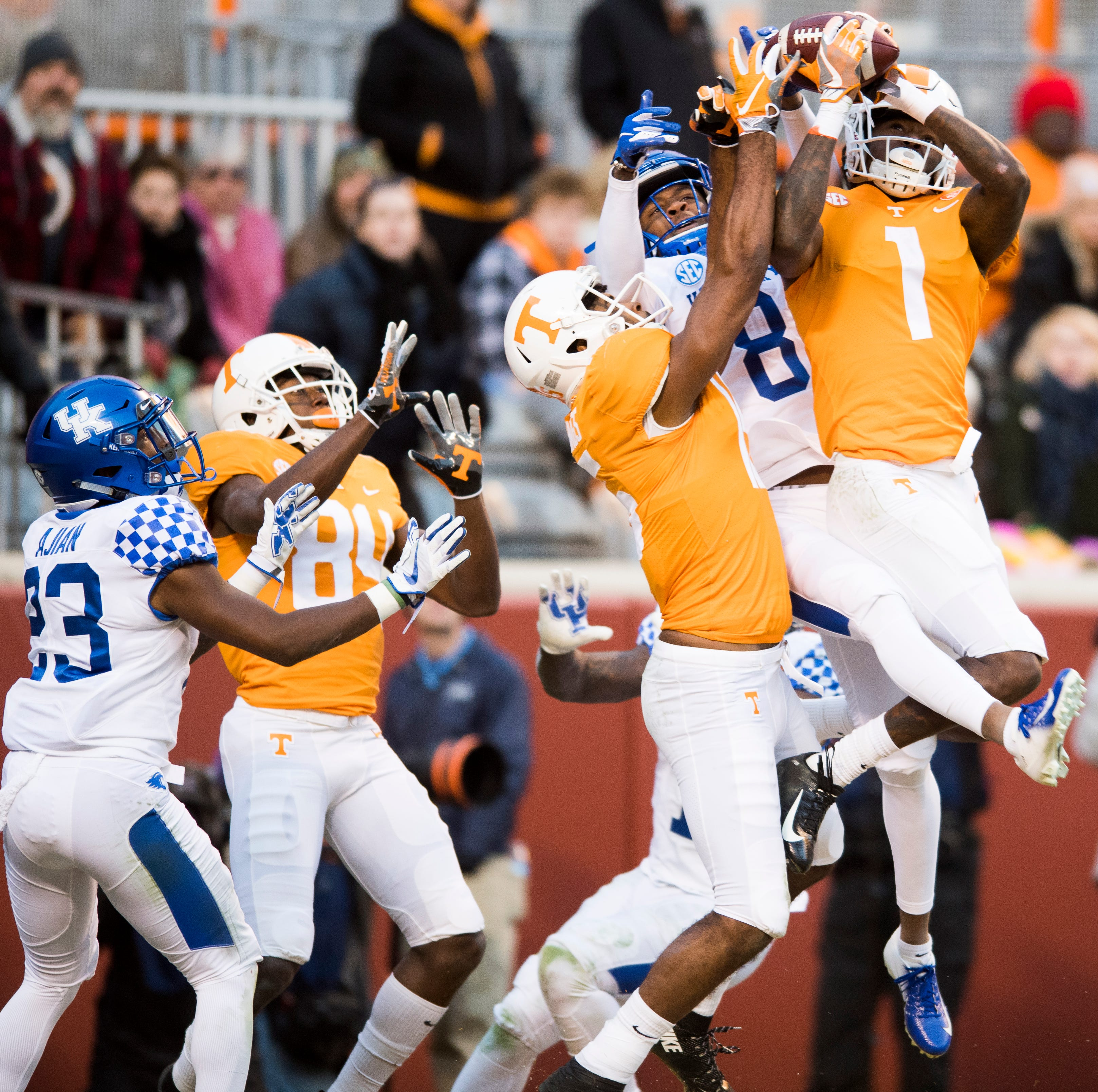 UT Vols football, Jeremy Pruitt point to future with upset of Kentucky — but enjoy the present