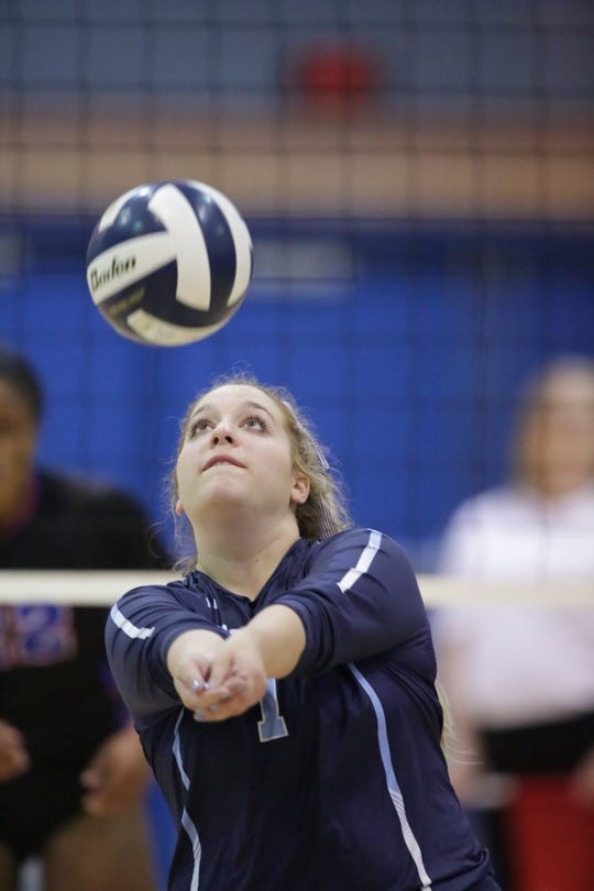 The Ascension Episcopal Blue Gators fell in straight sets to Country Day on Saturday in the LHSAA Division V volleyball finals.