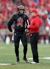 Kyle Bolin made six starts for Bobby Petrino at Louisville from 2014-15.