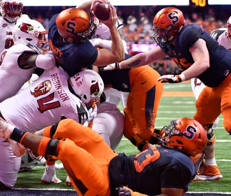 Ncaa Football Louisville At Syracuse
