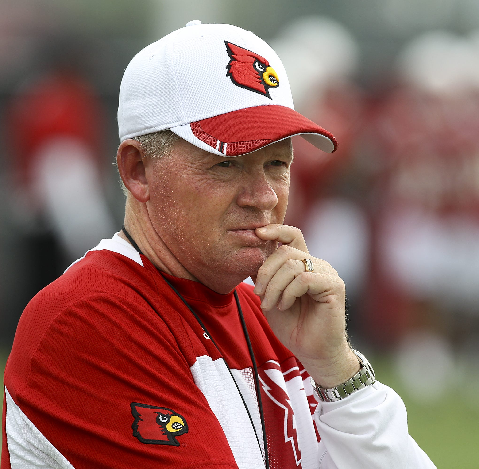 Missouri downplays Bobby Petrino appearance at spring practice