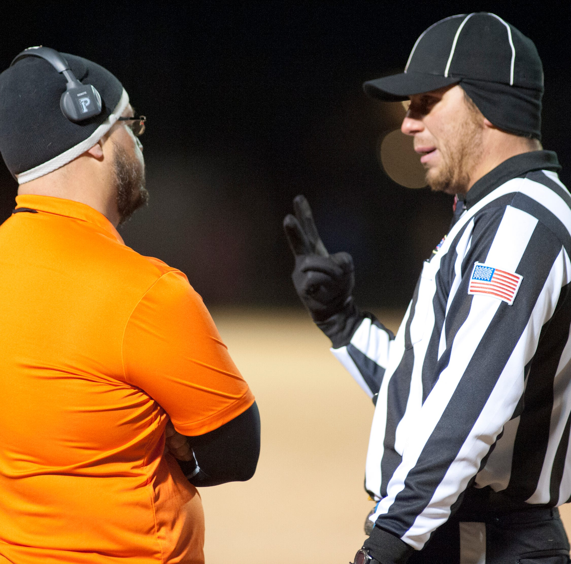 Parents, school leaders: Refs are quitting because you're abusing them