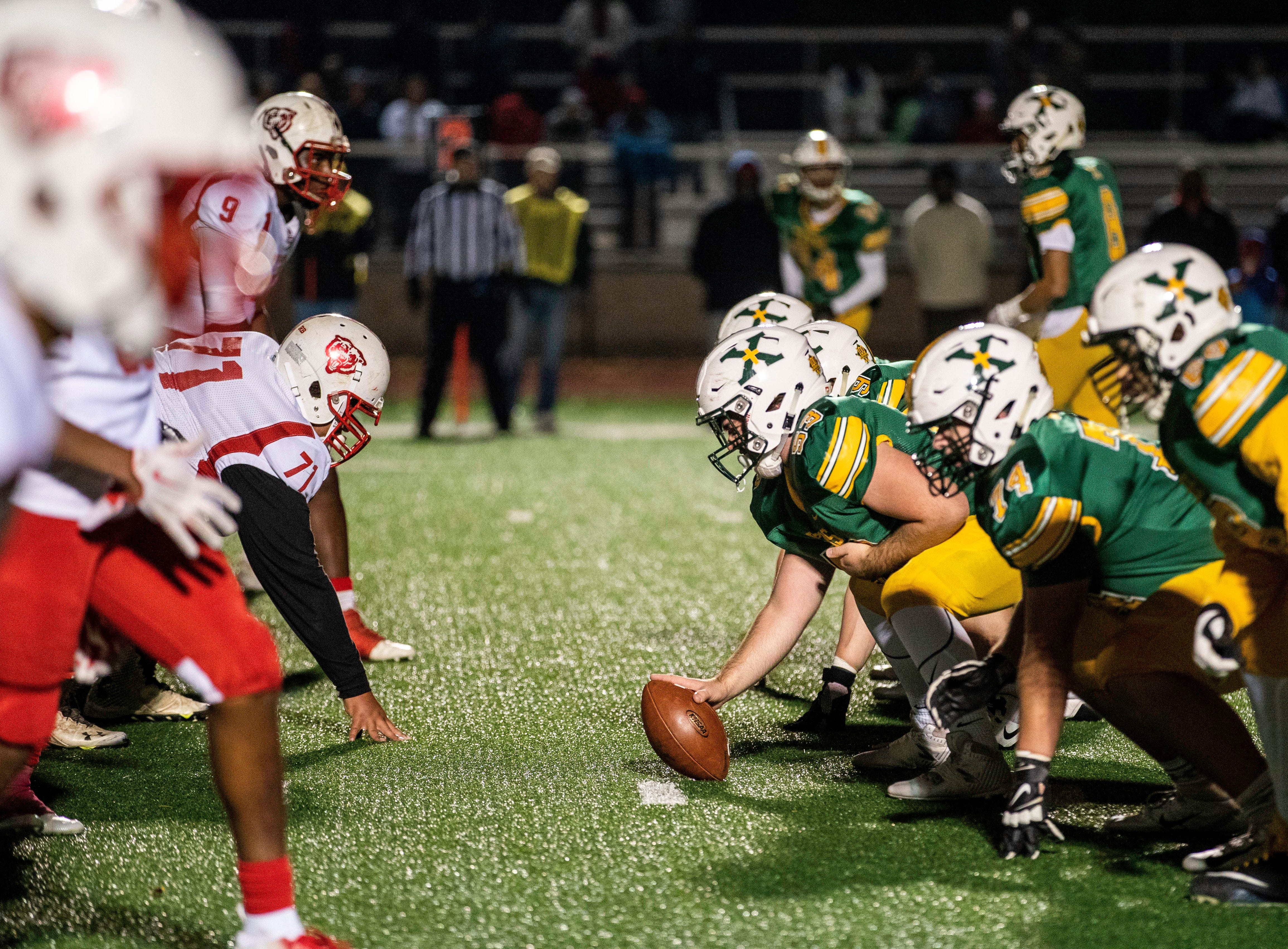 Butler and St. X go head to head in the second round of the playoffs at St. Xavier High School, Friday, Nov. 9, 2018.