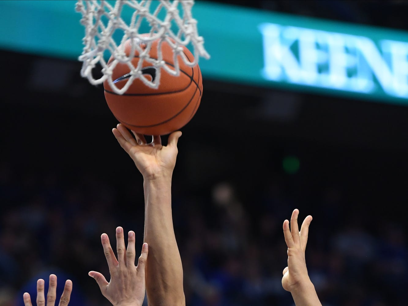 Keldon Johnson puts up the ball during the University of Kentucky basketball game against Southern Illinois at Rupp Arena in Lexington on Friday, Nov. 9, 2018.