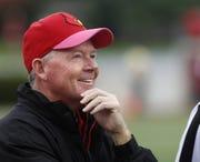 Former Louisville football coach Bobby Petrino