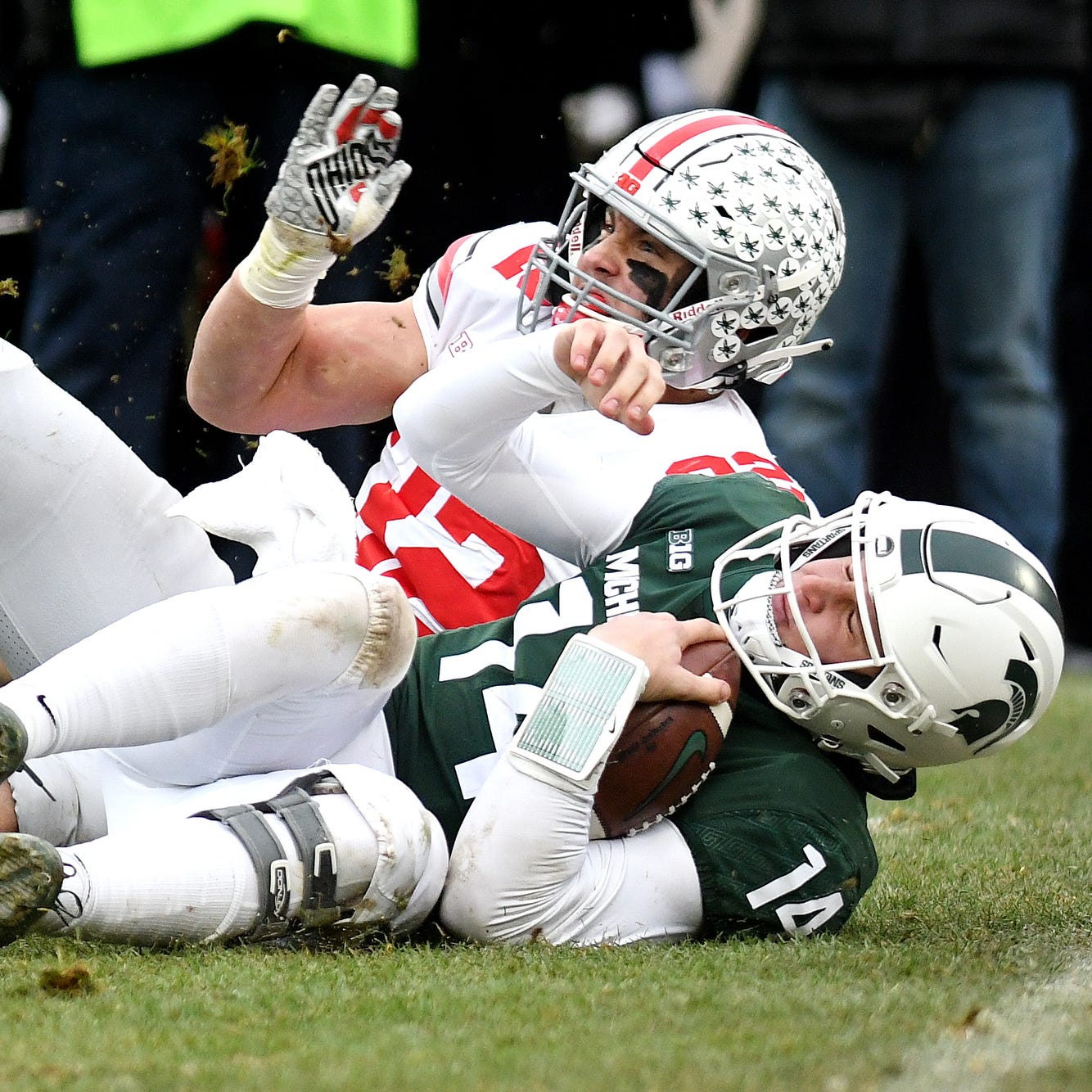 Couch: Dantonio's QB decisions derail Michigan State's chances against Ohio State