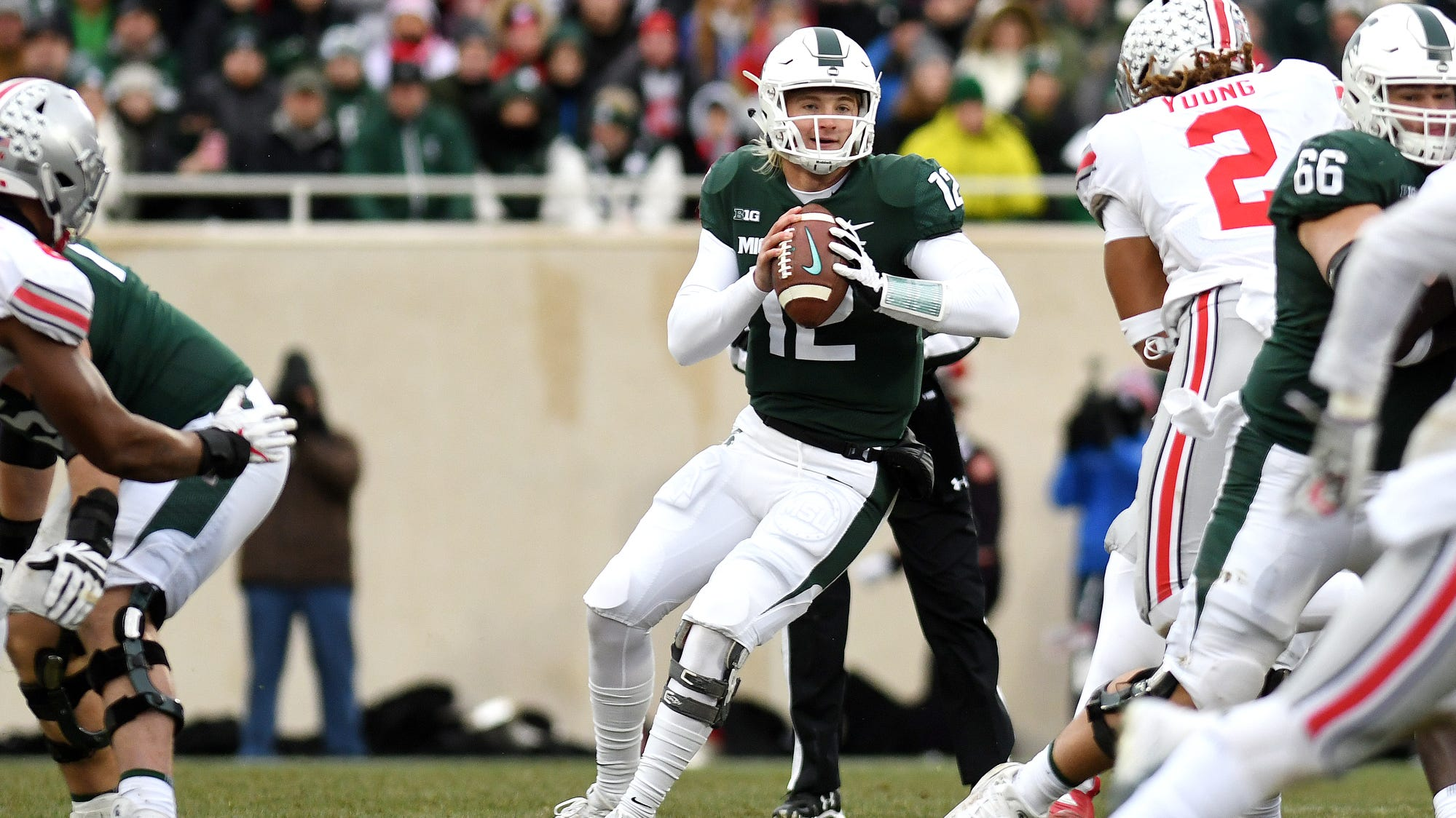 Michigan State Football Falls To Ohio State 3 Quick Takes From Couch