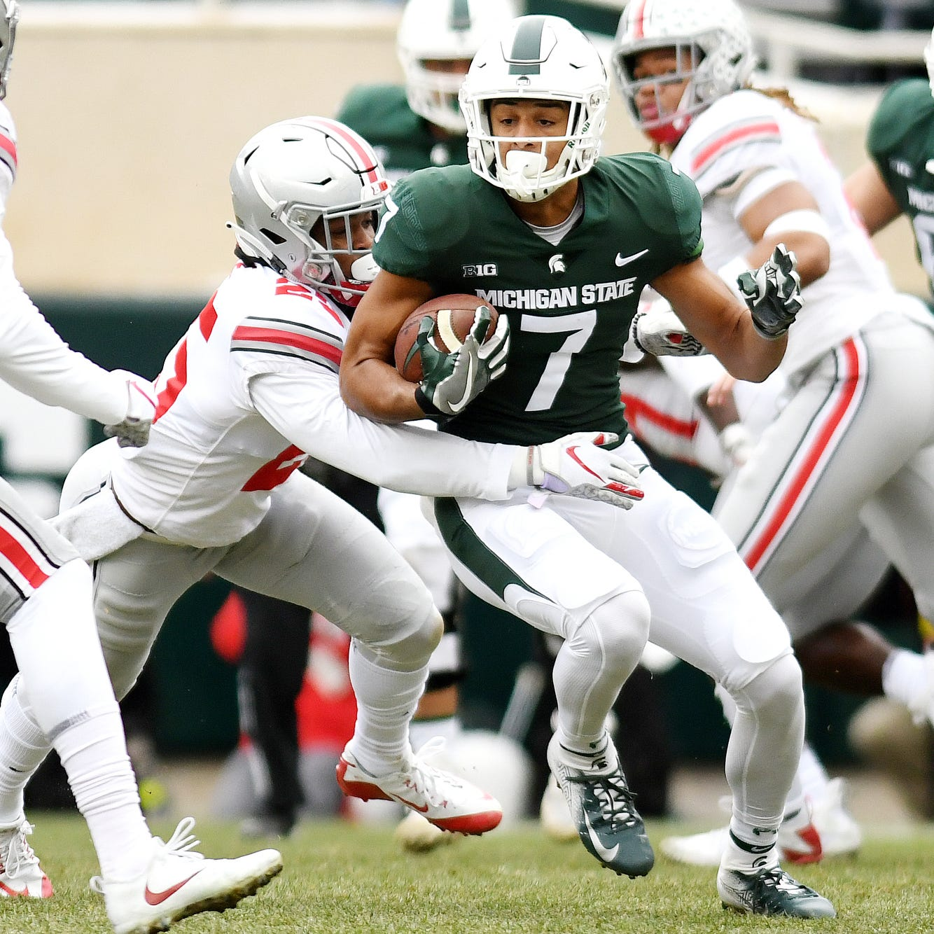 Grades for Michigan State's performance against Ohio State