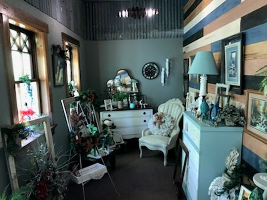 The inside of Bell, Book & Candle store inside Dylan's Den started by Sabrina Krejci with the help of the Neillsville community.