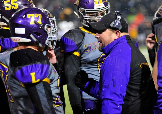 Taylor Gerhardt has stepped down as head football coach at Lexington after leading the Minutemen to the playoffs in two of the last three years and overseeing a program that produced the first Mr. Football in Ohio from Richland County, Ohio State-bound Cade Stover.