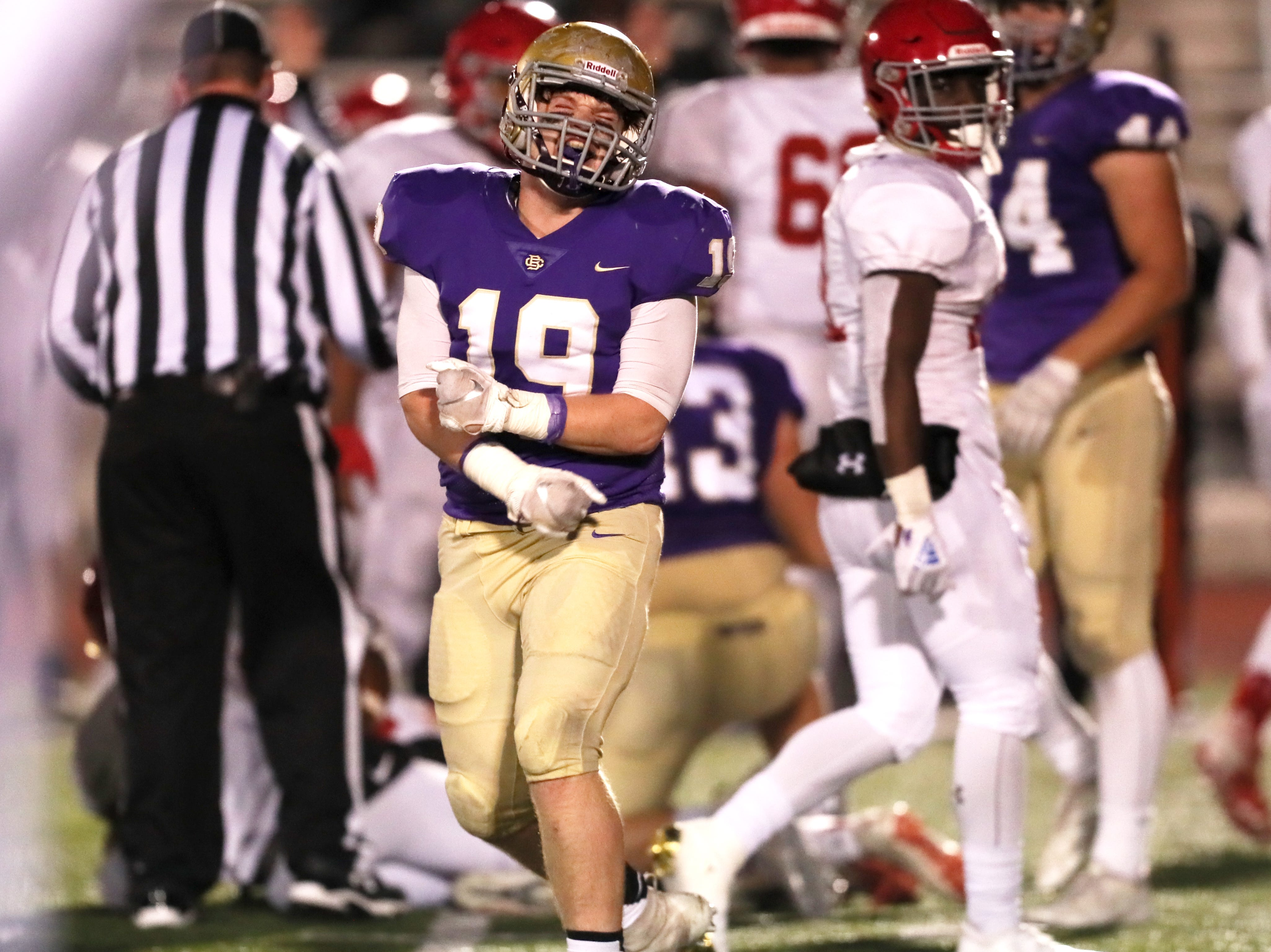 14. Christian Brothers (8-3) lost to Brentwood Academy, 21-14.