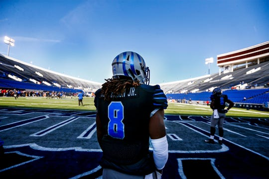Running back Darrell Henderson and the Memphis Tigers have battled their way back into the AAC title hunt.