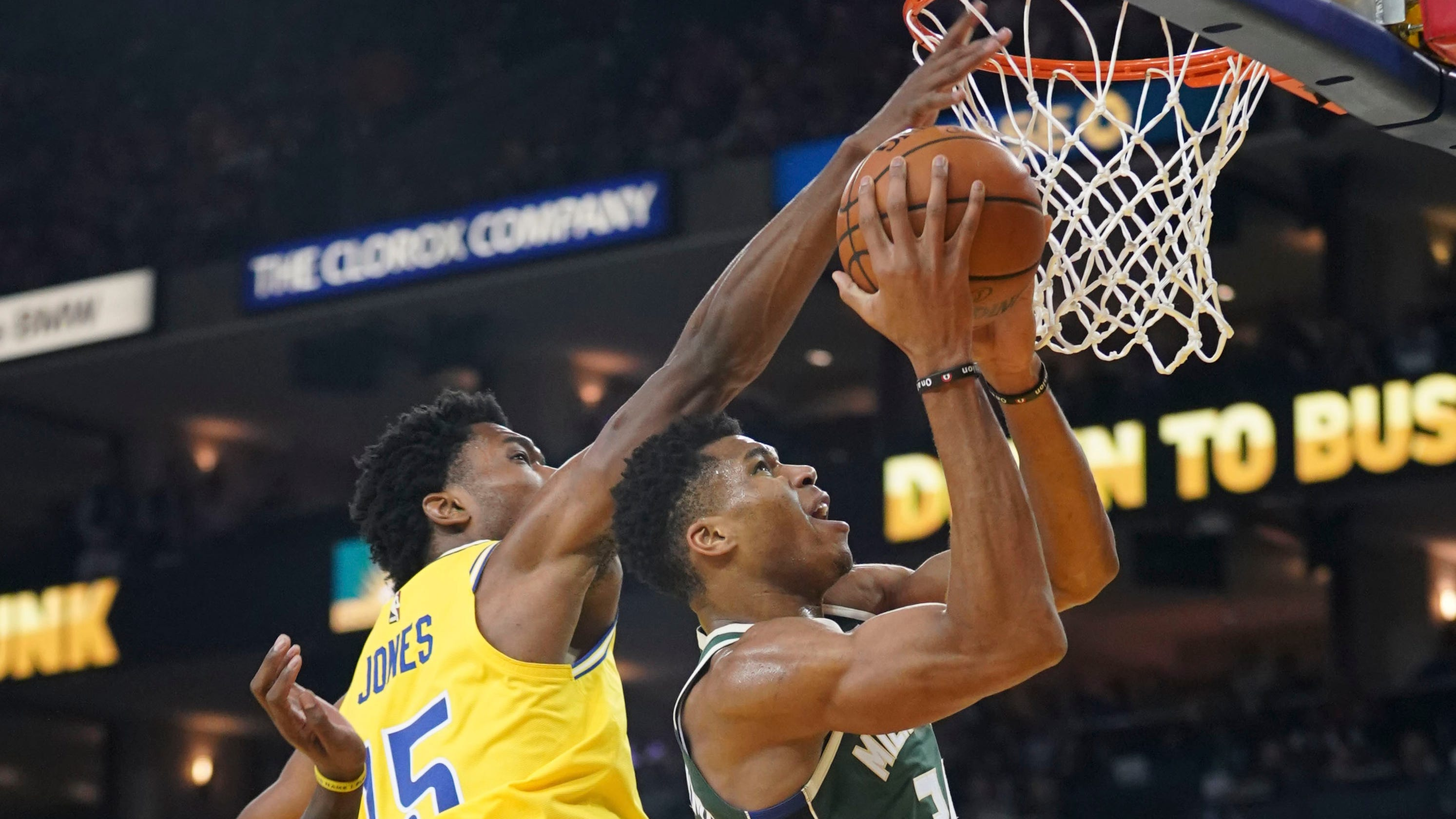 7479c9a8ab8 Bucks enjoy win over Warriors, but know they have more to do