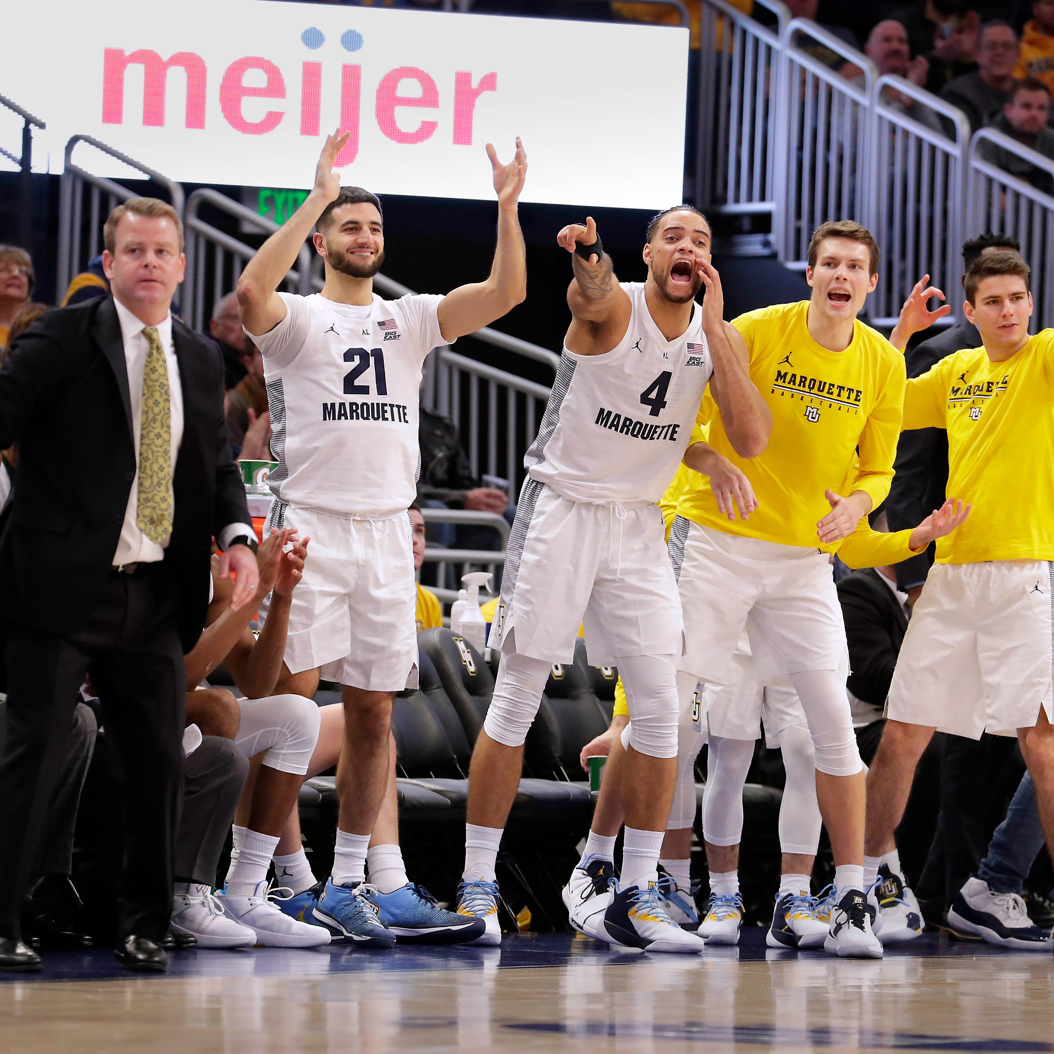 Marquette returns to Associated Press top 25 poll for first time in almost five years
