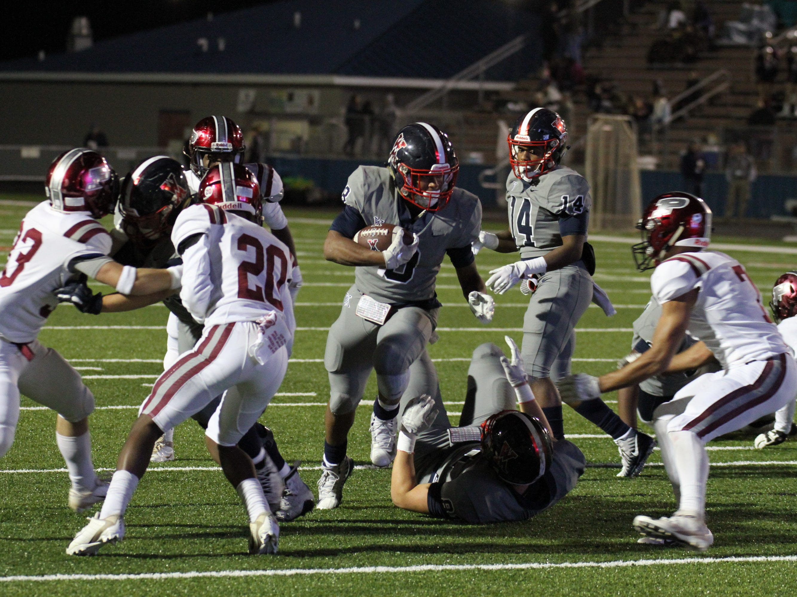 West Monroe blanks Pineville 53-0 to advance to the second round of the playoffs.
