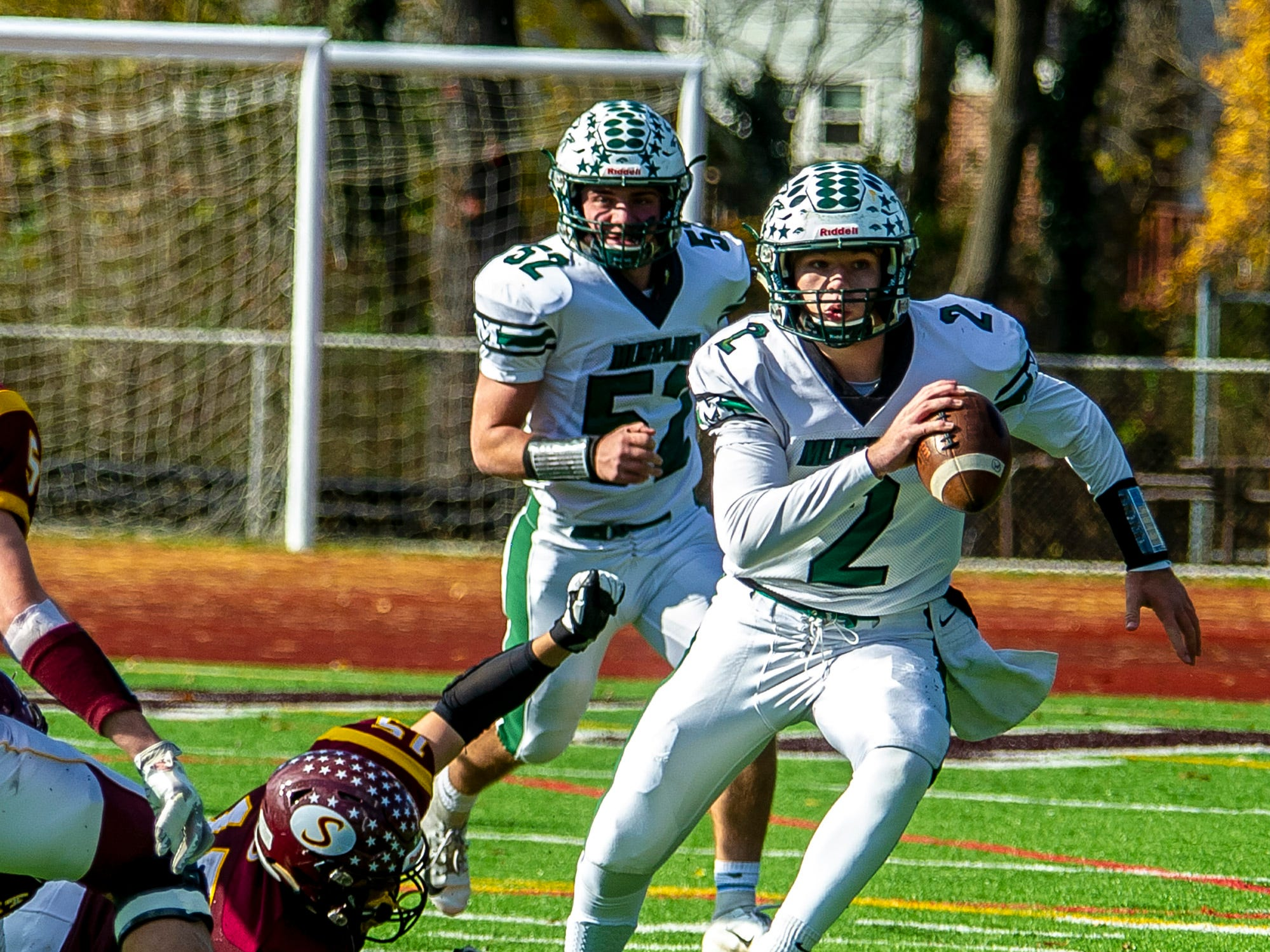 Summit football eliminates Montville from postseason