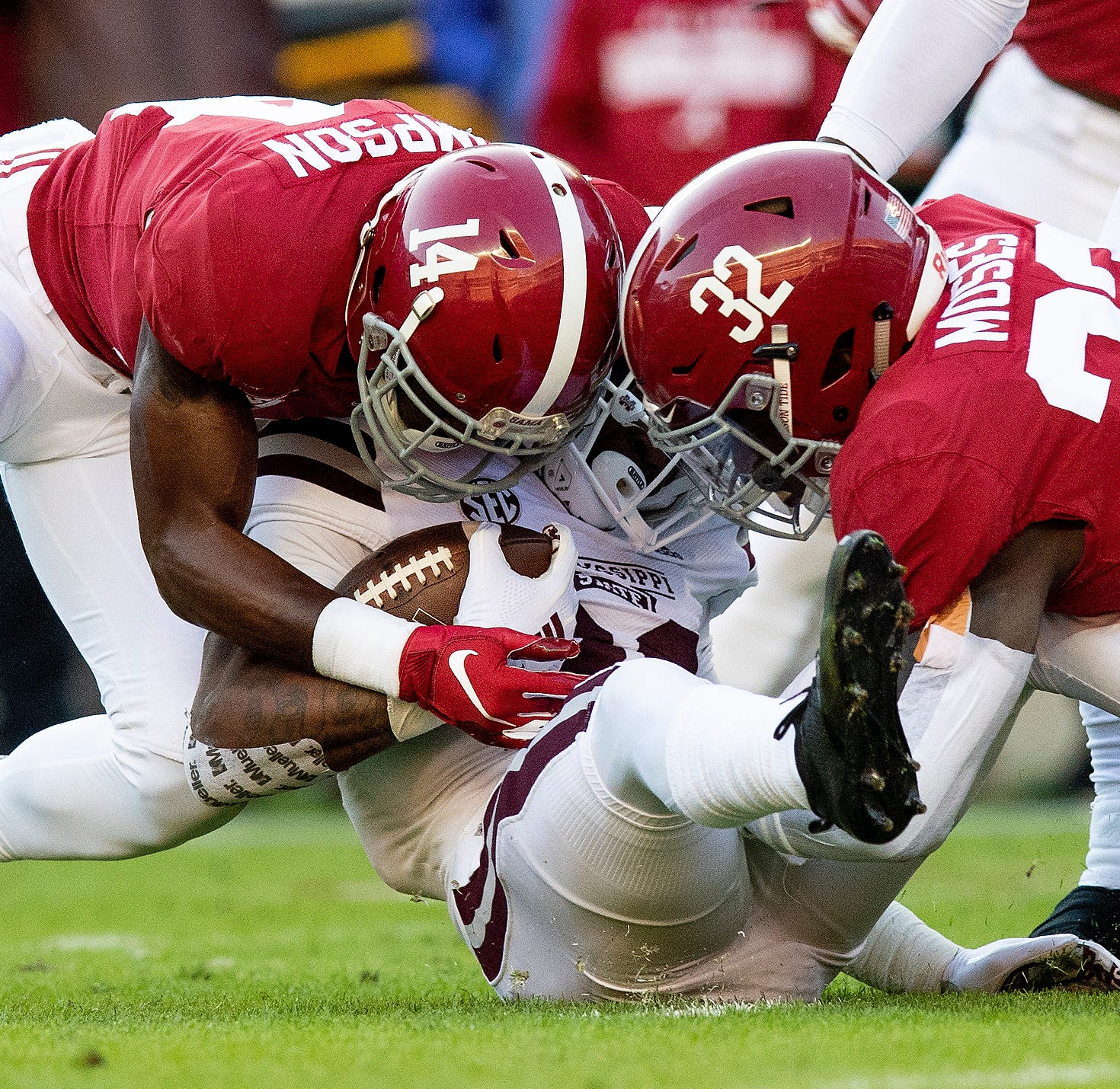 The LSU effect is real, but the Alabama juggernaut rolls on