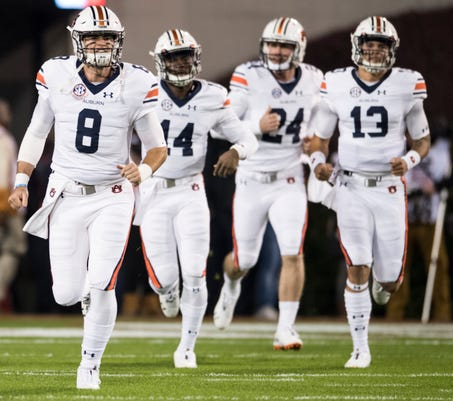 Image result for 2018 auburn qb's