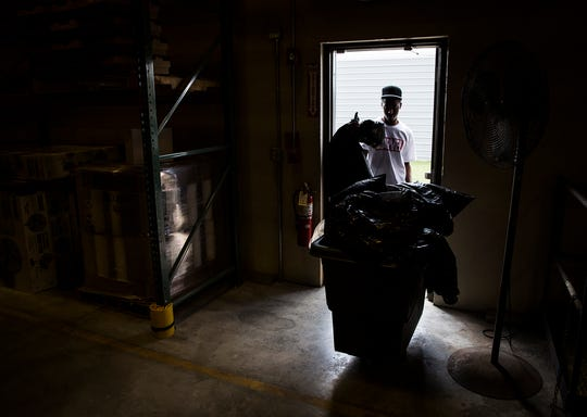 Kory Jones works a part-time janitorial job through Hillcroft Services at their Air Park Building. Kory also does janitorial work for City Hall. People with disabilities are twice as likely to be unemployed or under employed.