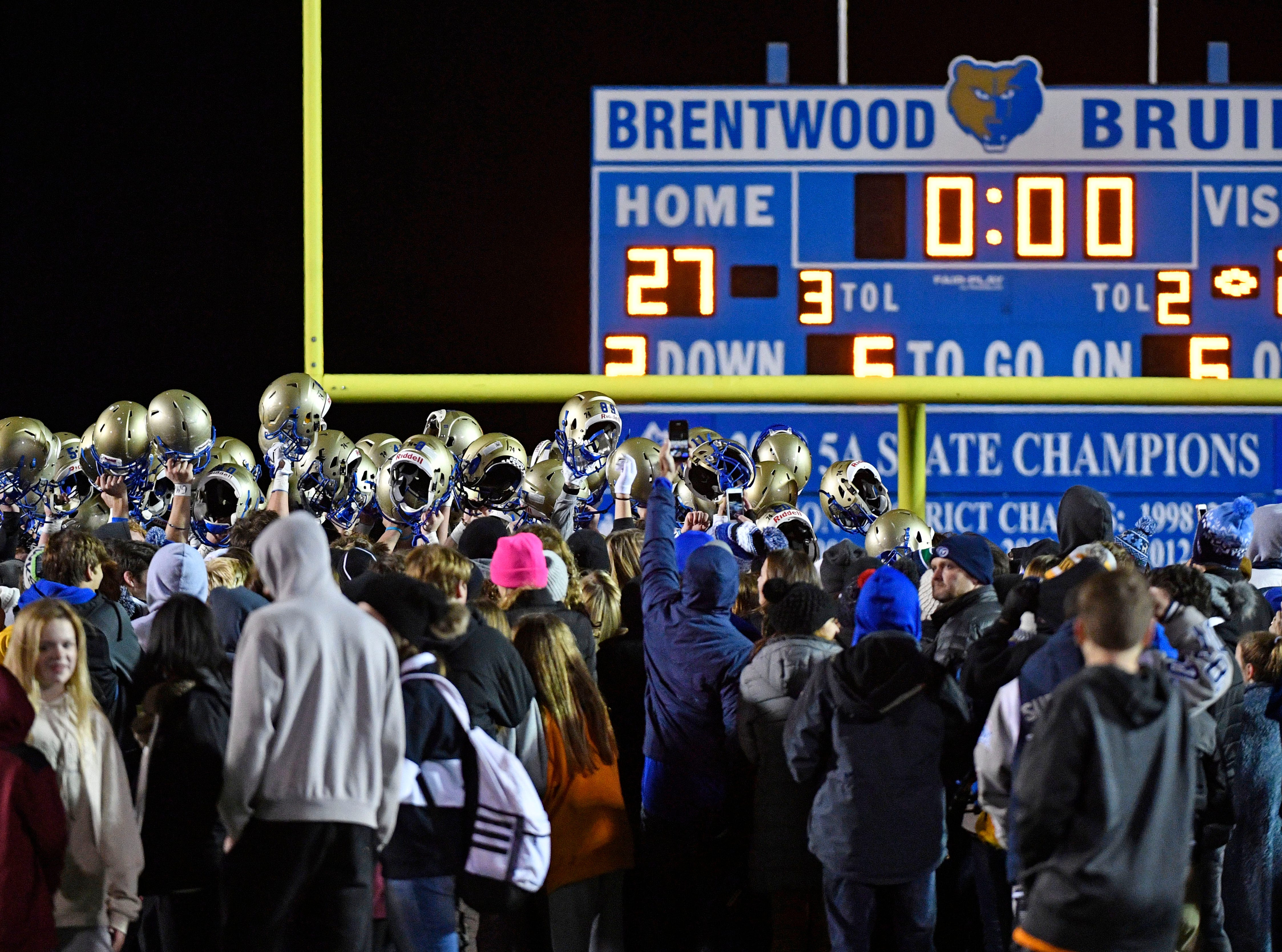 As Independence plays at Brentwood during the Class 6A second round game