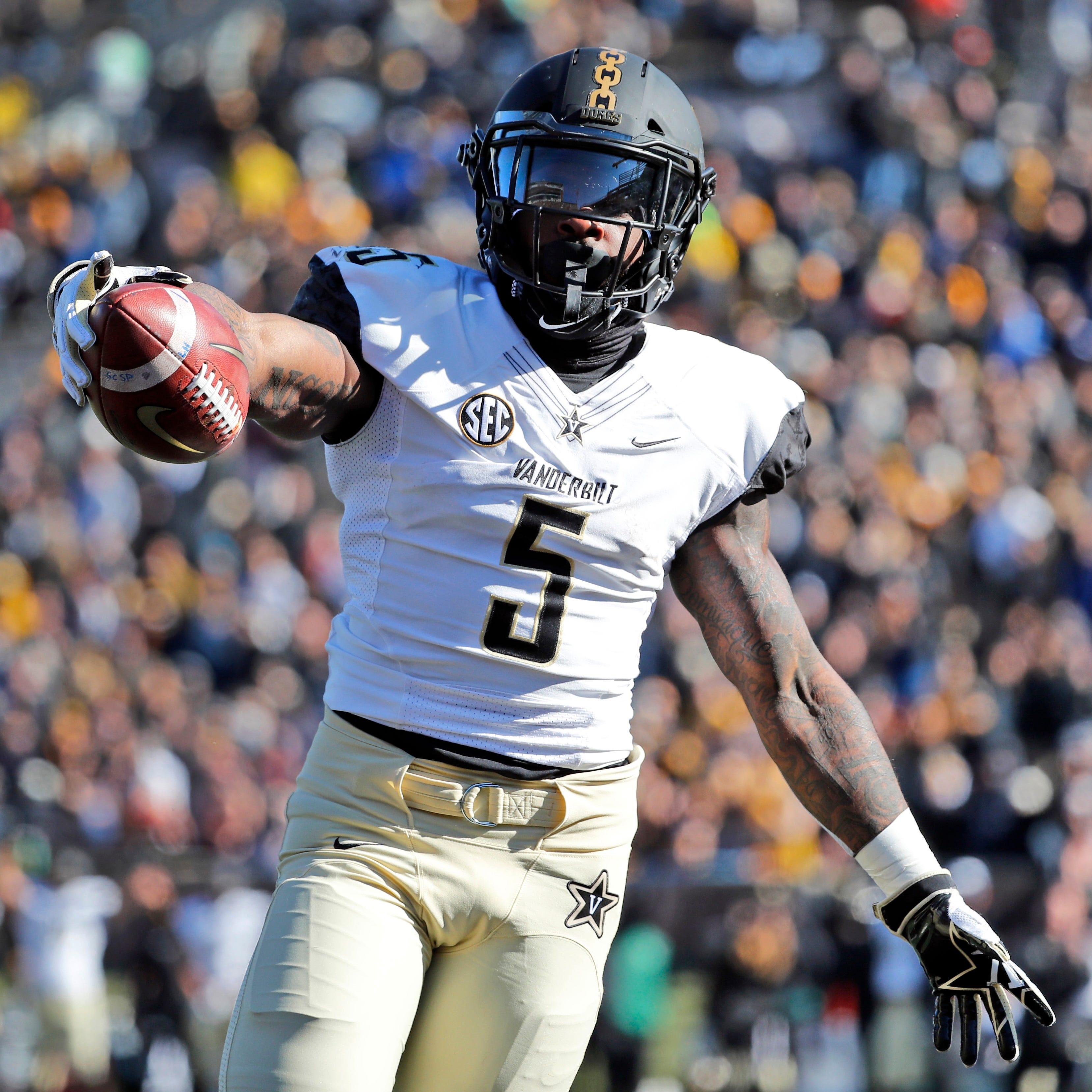 Ke'Shawn Vaughn earns SEC Newcomer of Year among four Vanderbilt players on All-SEC team