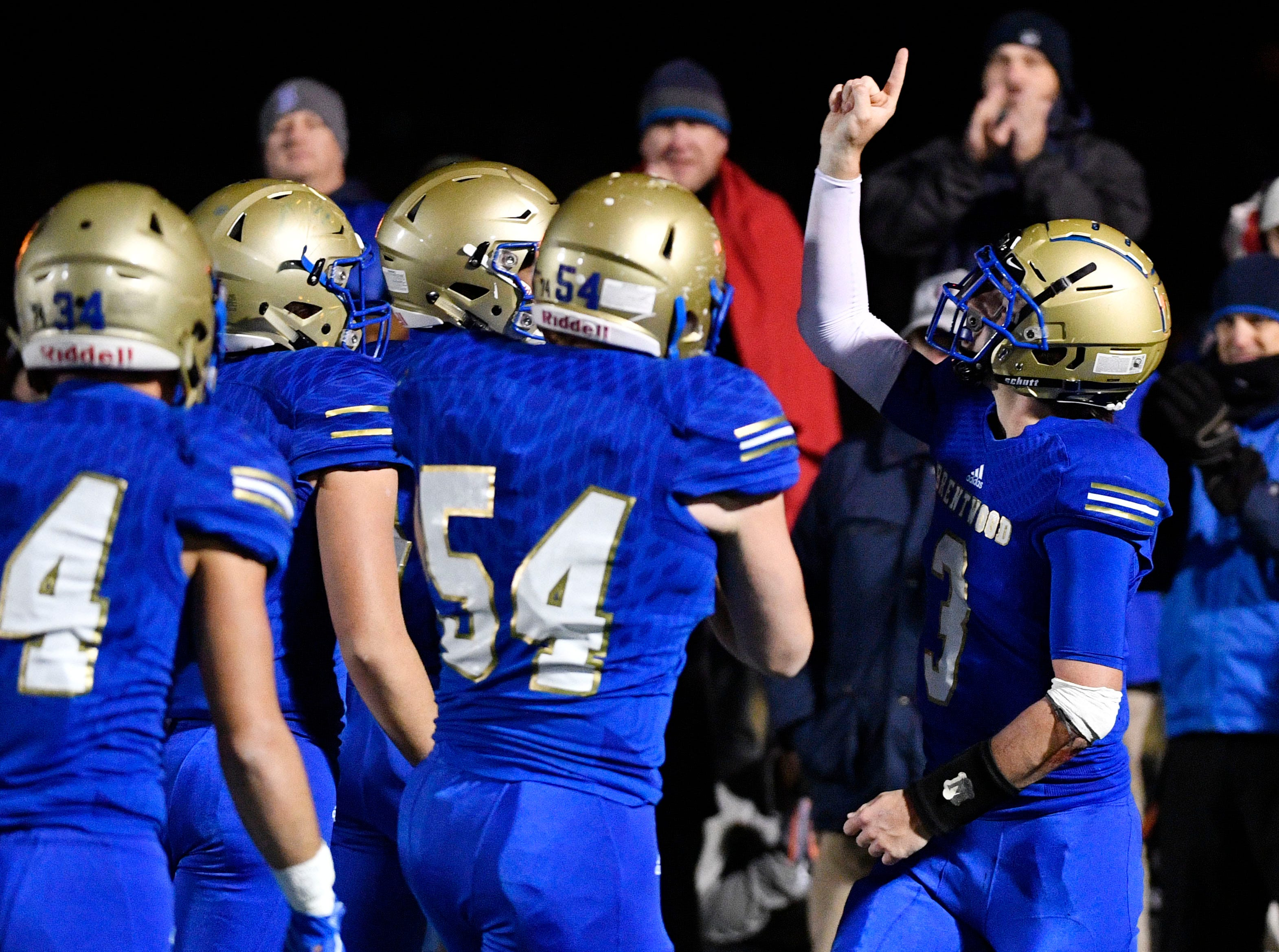 24. Brentwood (10-2) beat Independence, 27-24.