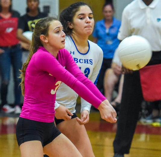 Barron Collier state volleyball