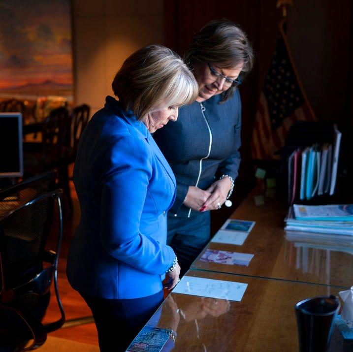 Immigration divides Michelle Lujan Grisham and Susana Martinez