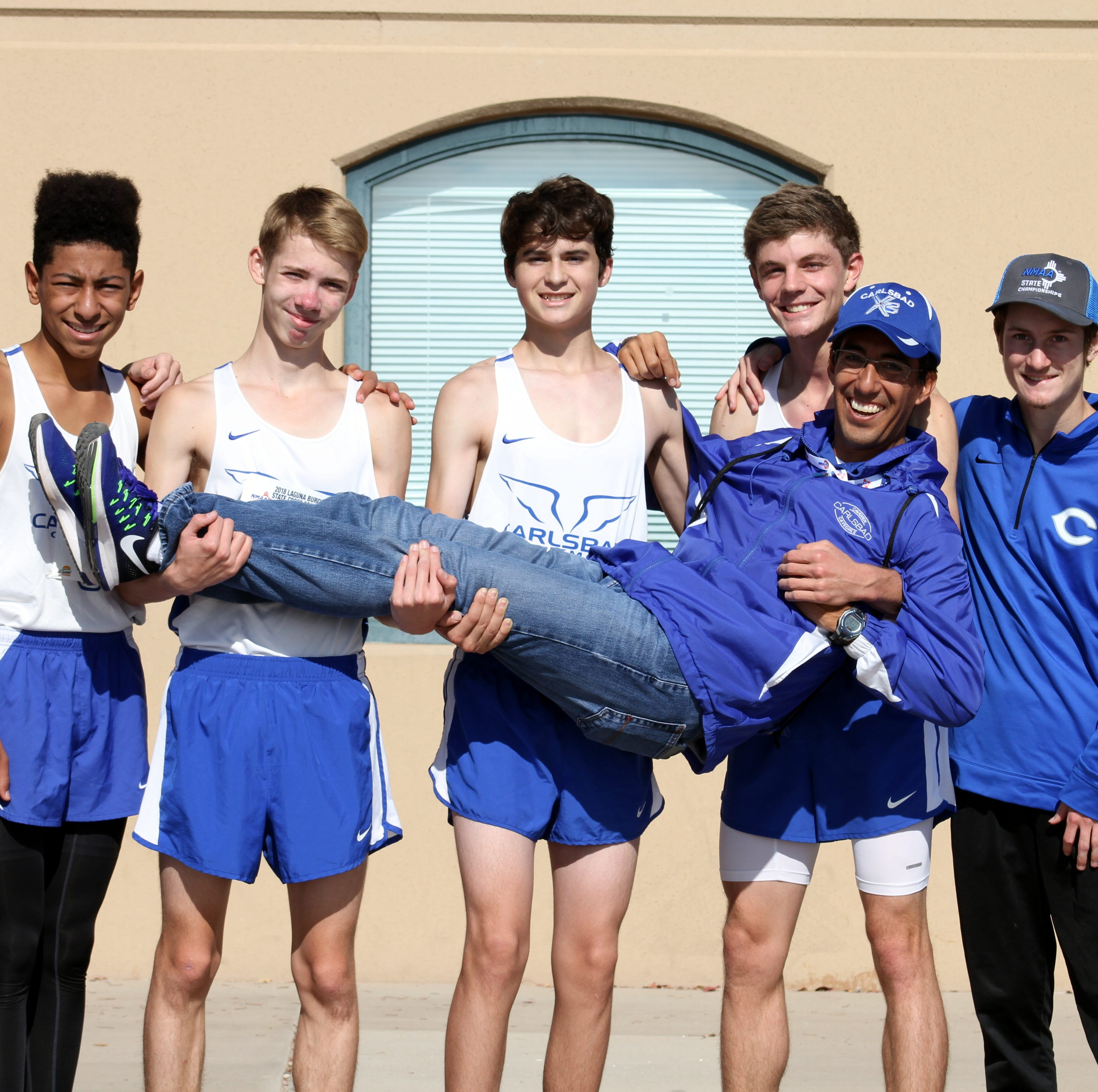 Carlsbad Cavemen finish 13th at state cross country race, build toward future