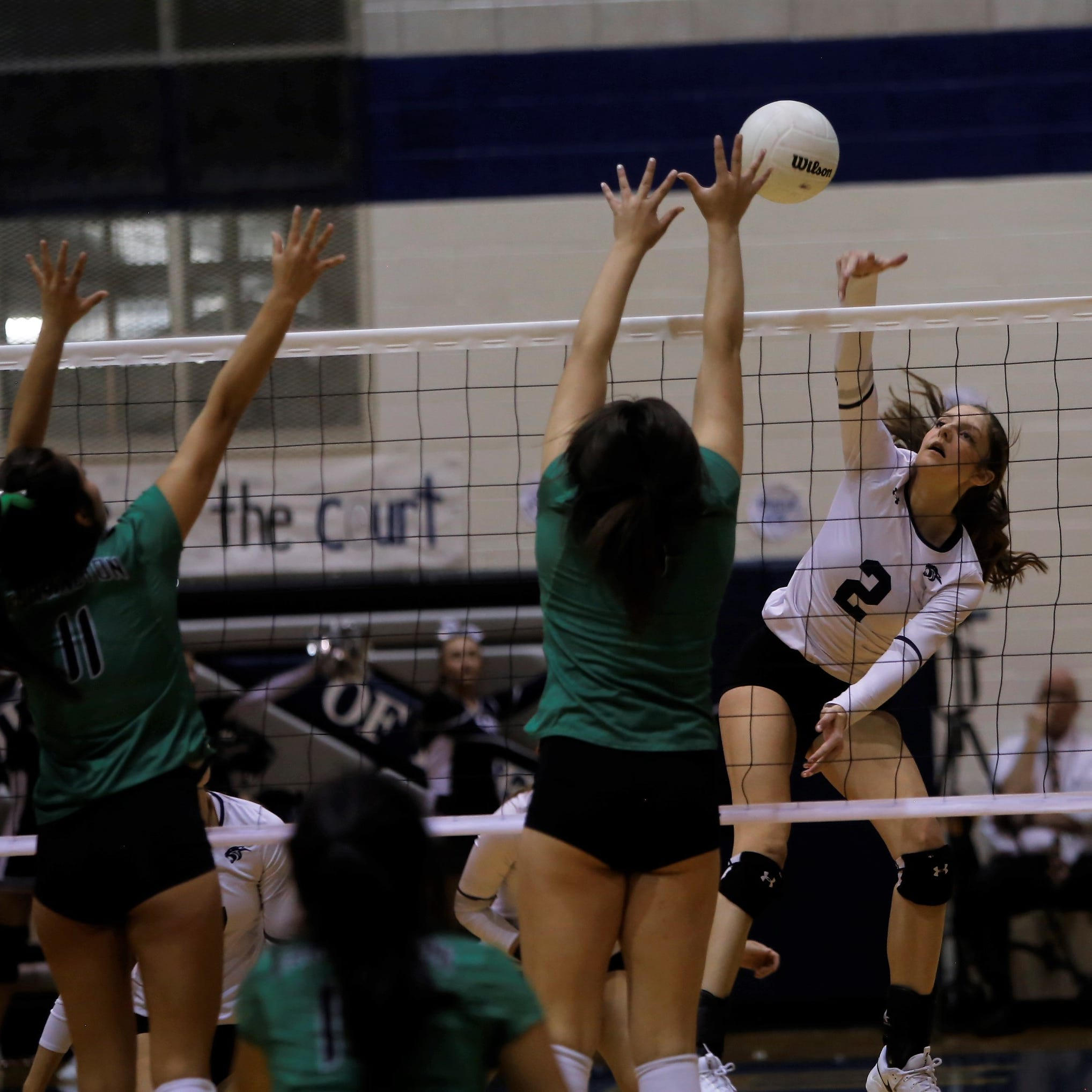Three area volleyball teams make playoffs