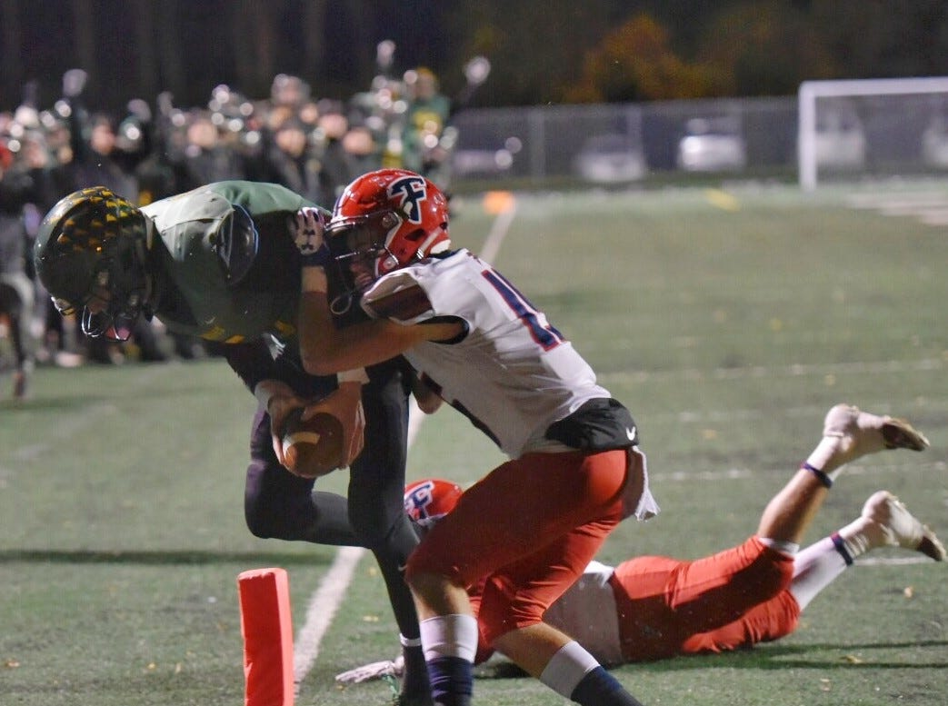 Groves tops Franklin 53-29 in wild shootout, earns return trip to state semifinal