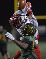 All four of Franklin's touchdowns Friday night against Groves in the Division 2 regional championship game came on passes from quarterback Jacob Kelbert to three different receivers.