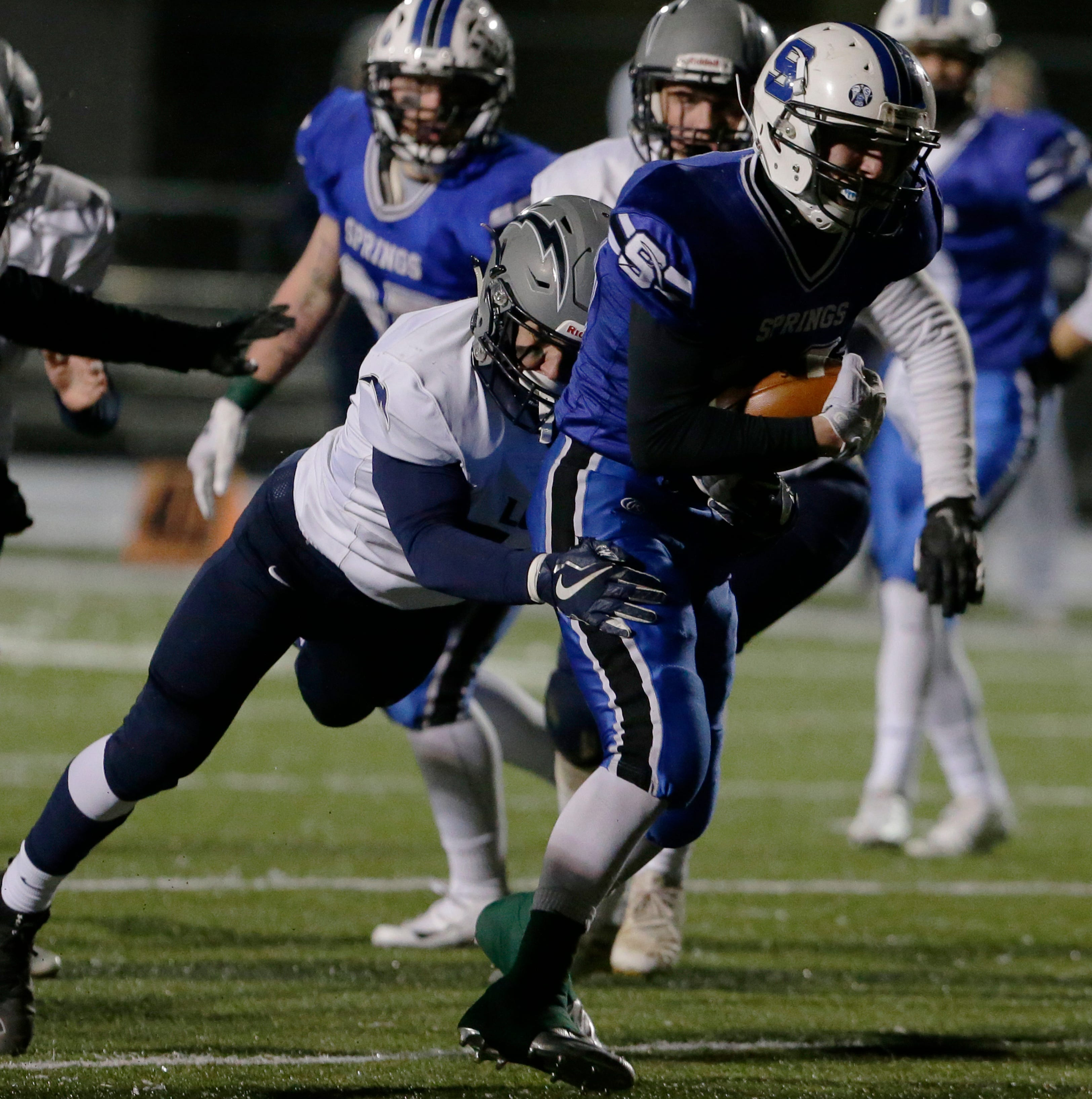 WIAA state football: St. Mary's Springs returns to Madison for Division 5 title game