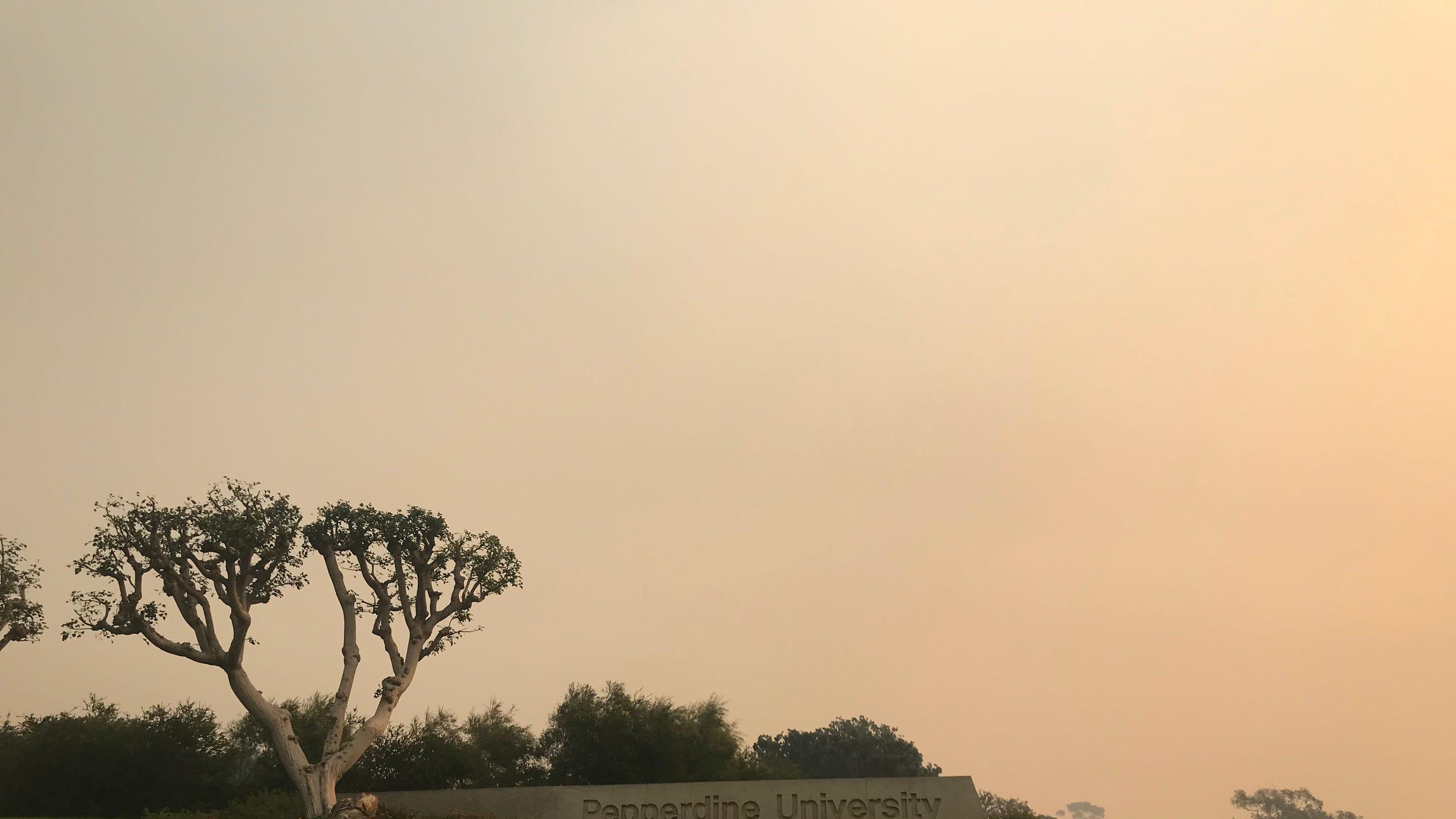 Pepperdine Malibu Campus Map.Southern California Fires Malibu S Pepperdine University Responds
