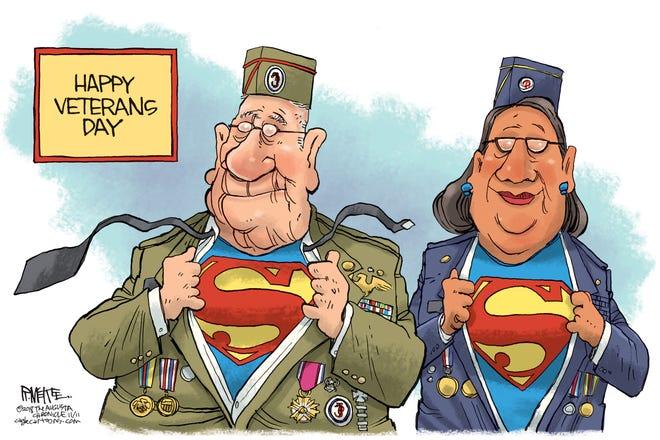 Rick McKee, The Augusta Chronicle, GA, drew this editorial cartoon.