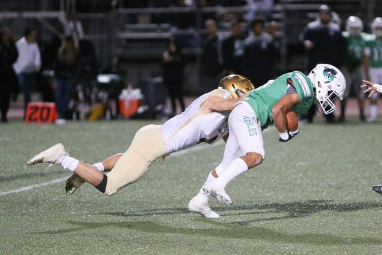 The Xavier Prep varsity football team won Friday's CIF  playoff game against Nogales by a score of 24-21.
