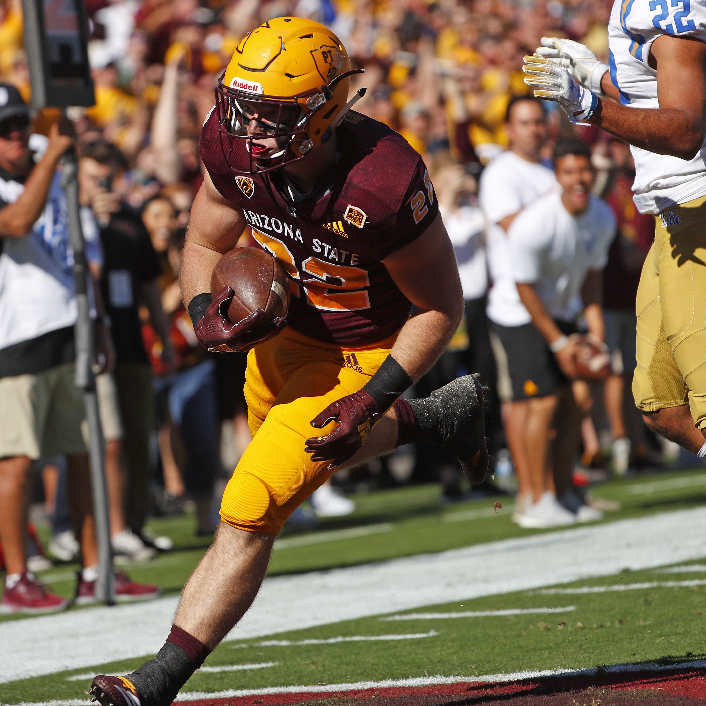 'Unselfish' Nick Ralston has been an unsung hero in ASU's productive run game