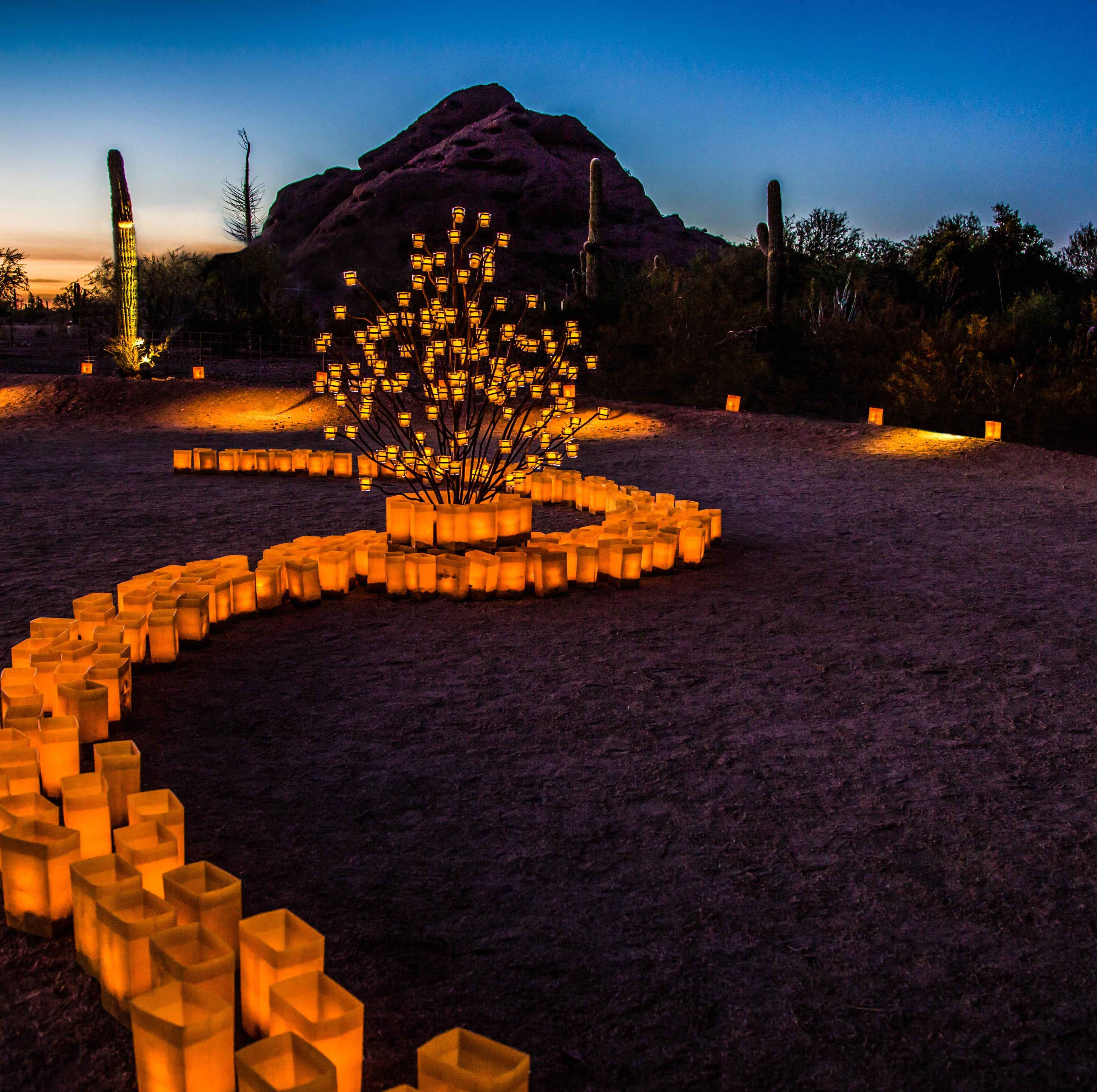 The Puffer Snuffer: How to blow out 8,000 candles at Las Noches de las Luminarias