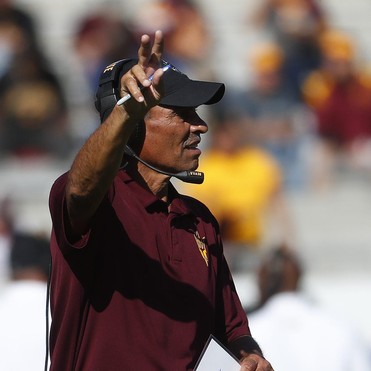 Herm Edwards downplays road, weather effects ahead of ASU's showdown at Oregon