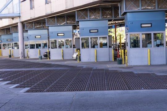 Nogales Port of Entry, Dennis DeConcini Crossing, on Nov. 9, 2018.
