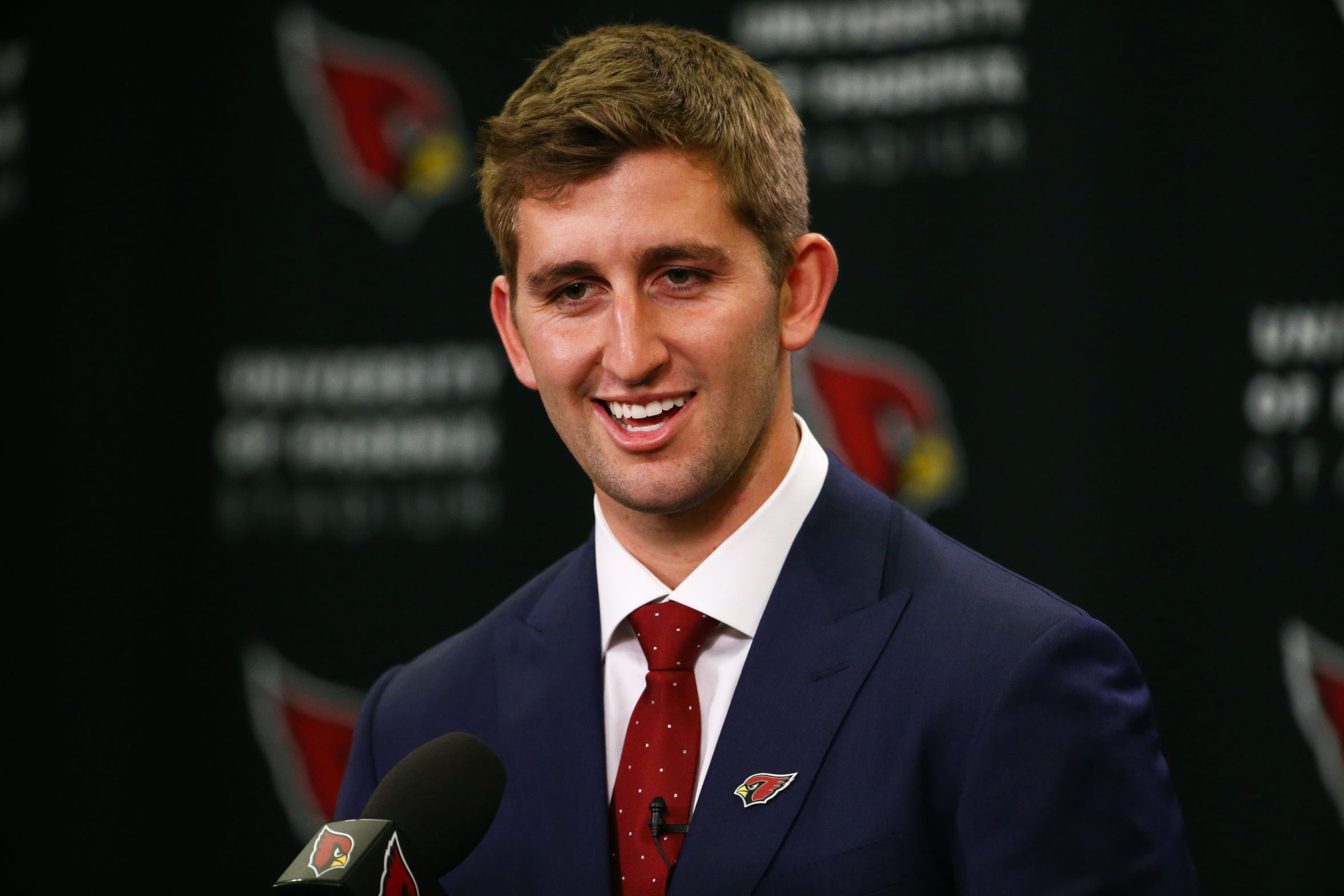 Josh Rosen left UCLA for the NFL with unfinished business. He plans on going back to school to finish his degree.