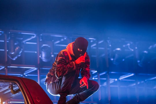 Twenty One Pilots perform at Talking Stick Resort Arena on Friday, Nov. 9, in Phoenix.