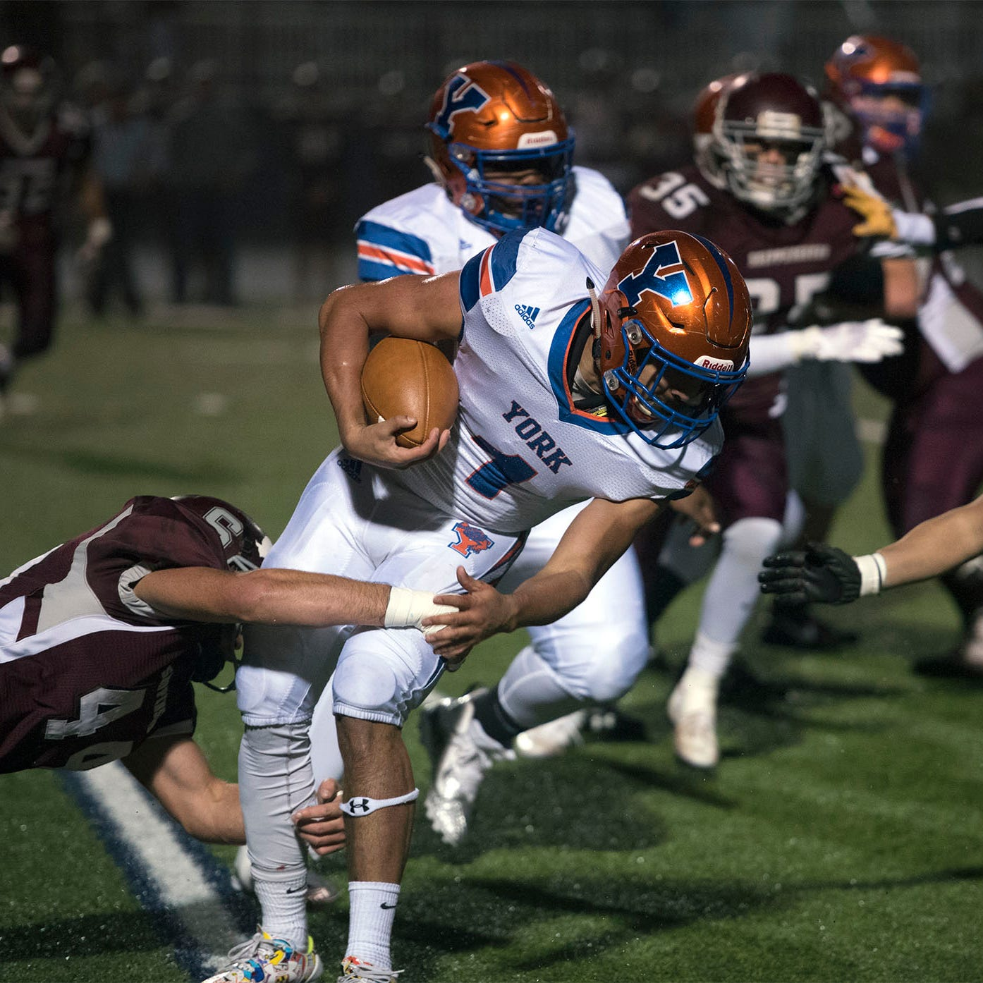 York High rumbles to playoff win over Shippensburg with second-half comeback