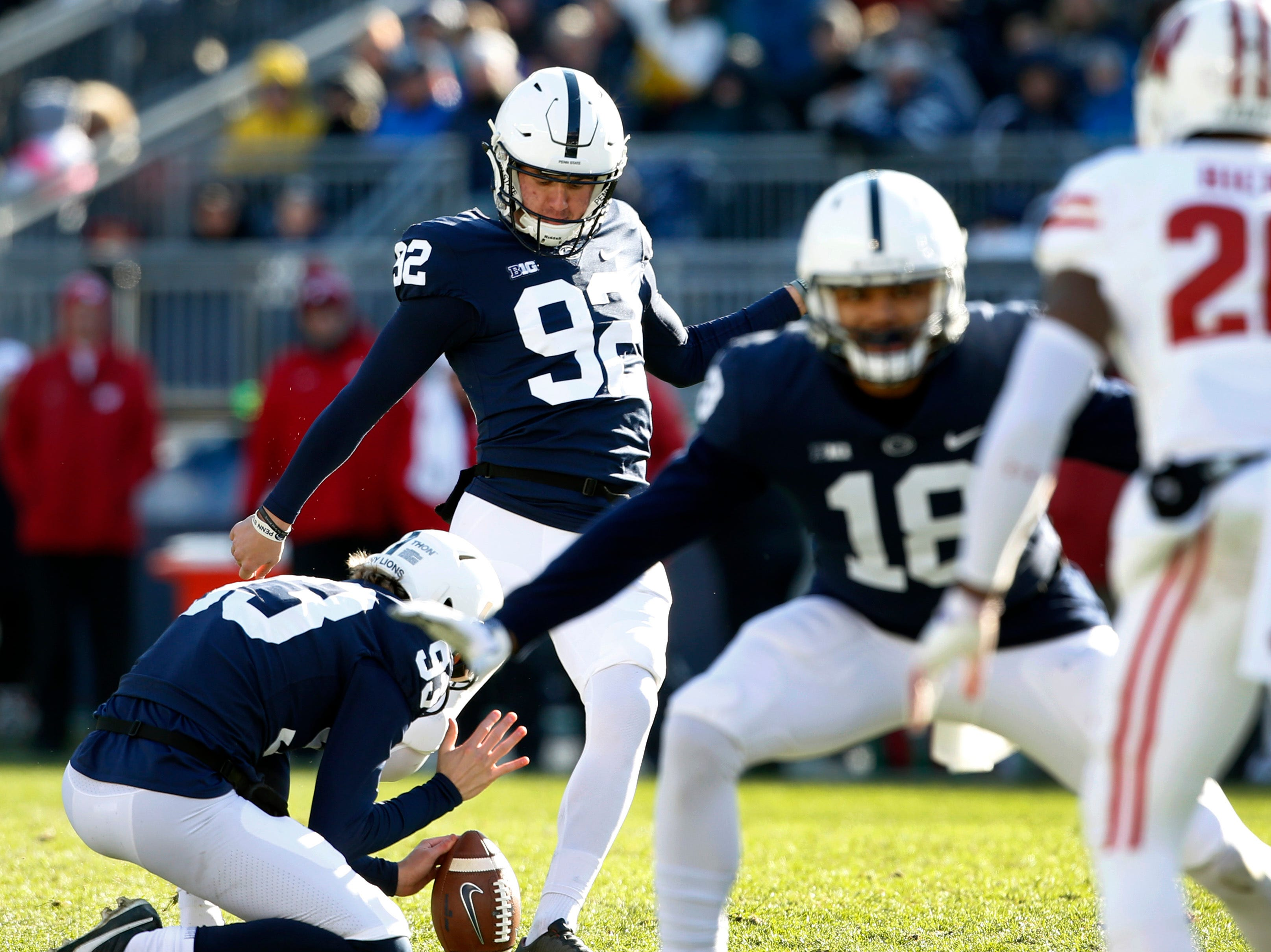 Photos: Penn State handles Wisconsin at home