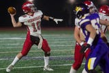 Bermudian Springs clinched its first trip to a District 3 football championship game since 2012 with a win at previously unbeaten Lancaster Catholic.