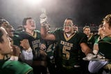 York Catholic downed rival Delone Catholic, 28-21 in overtime to claim the District 3 Class 2A football championship on Friday, Nov. 9, 2018.
