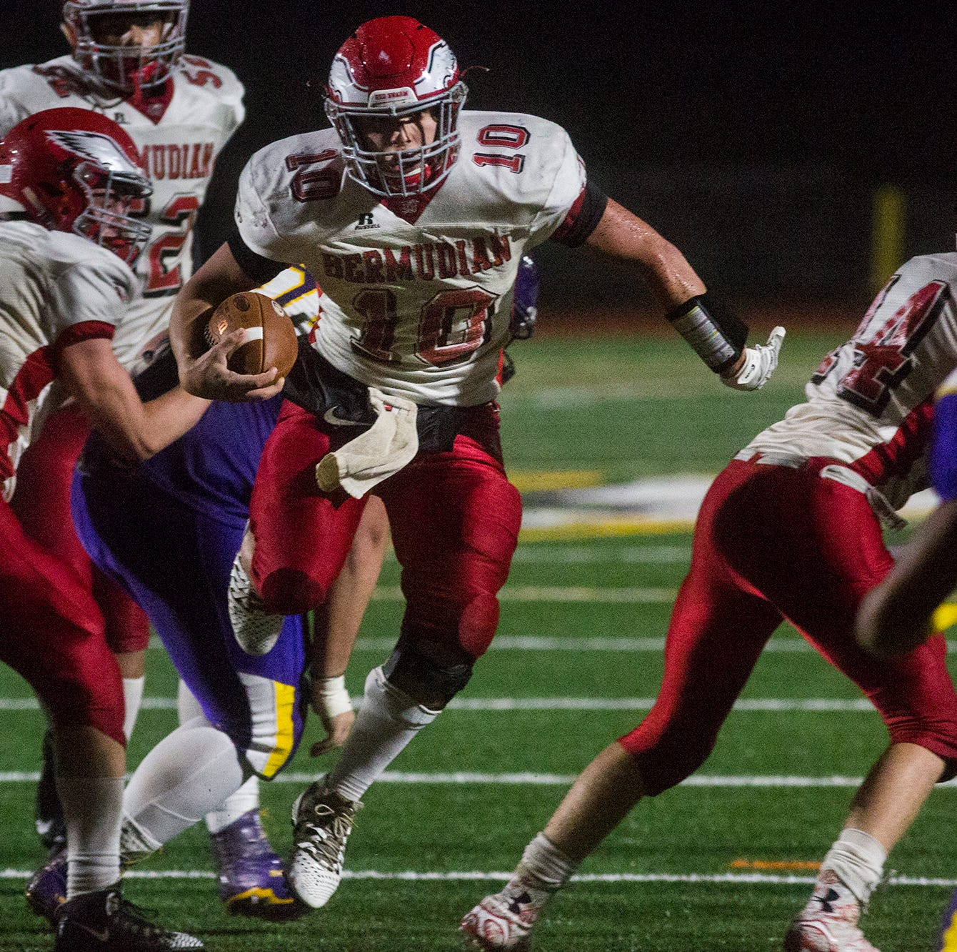 Bermudian Springs shocks No. 1, previously unbeaten Lancaster Catholic to reach title game